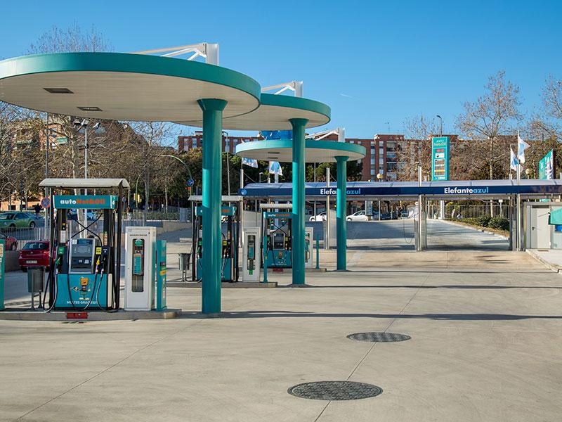 abrir una gasolinera  elefantezul y autonet&oil