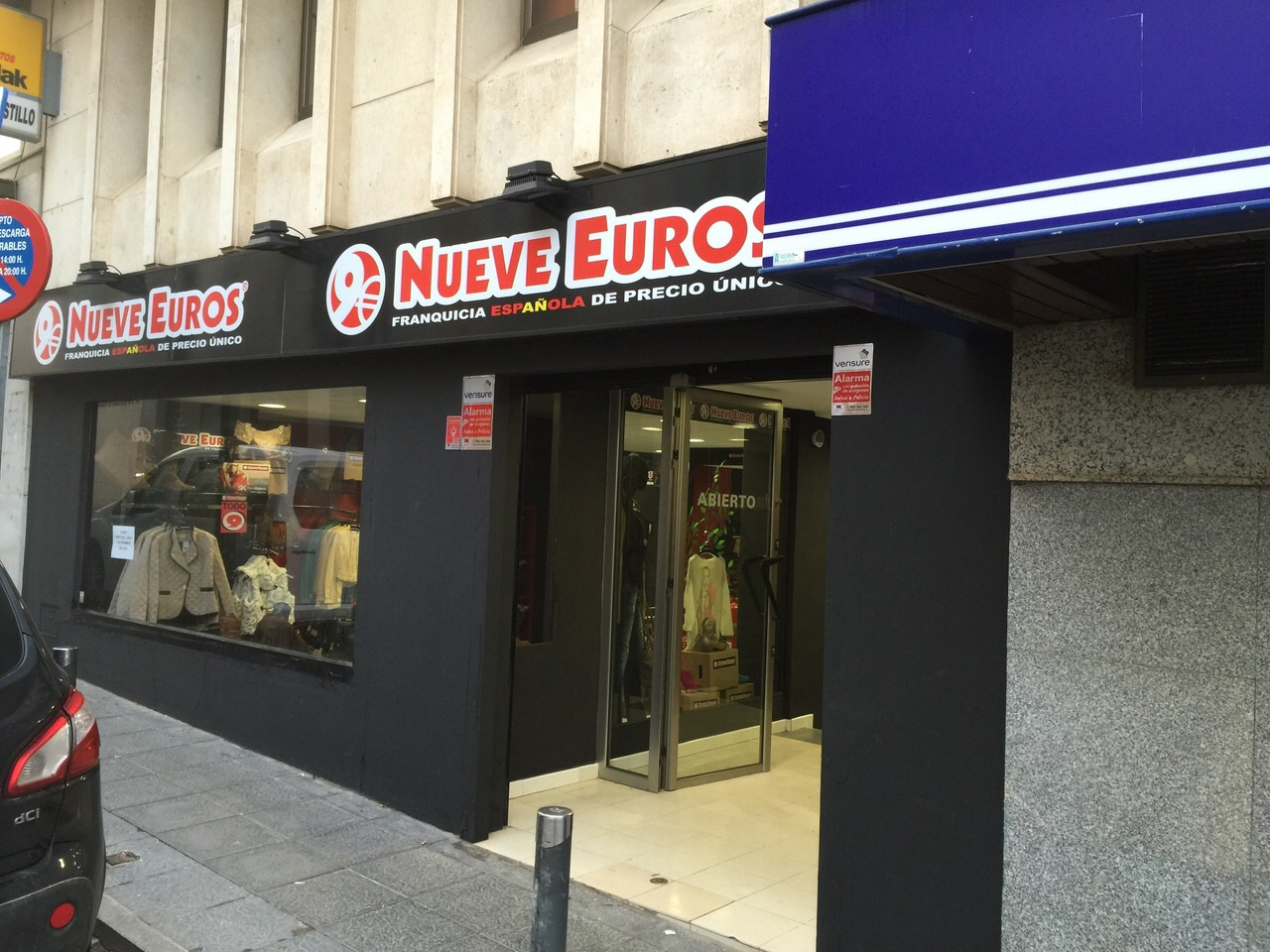 franquicia Nueve Euros