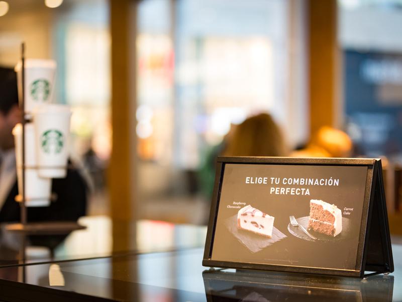 Espacio de Starbucks