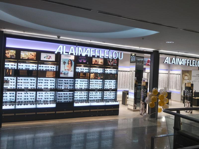 Local de la franquicia Alain Afflelou Óptico