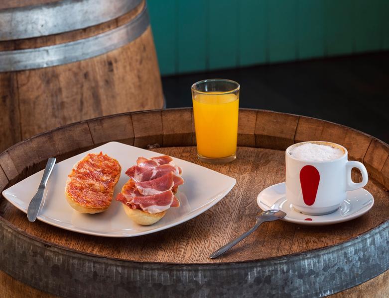 Mercado provenzal desayuno