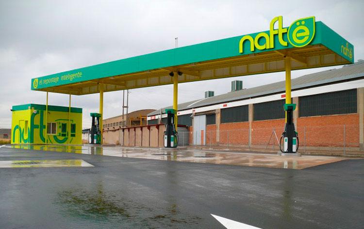 gasolineras nafte