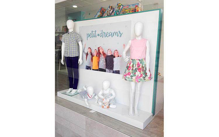 ropa infantil petit dreams precio franquicia