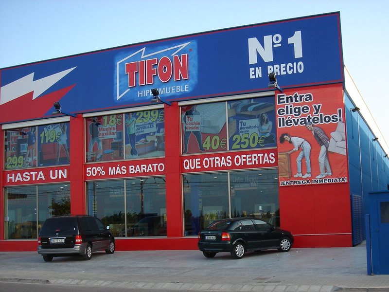 Franquicia de muebles en España