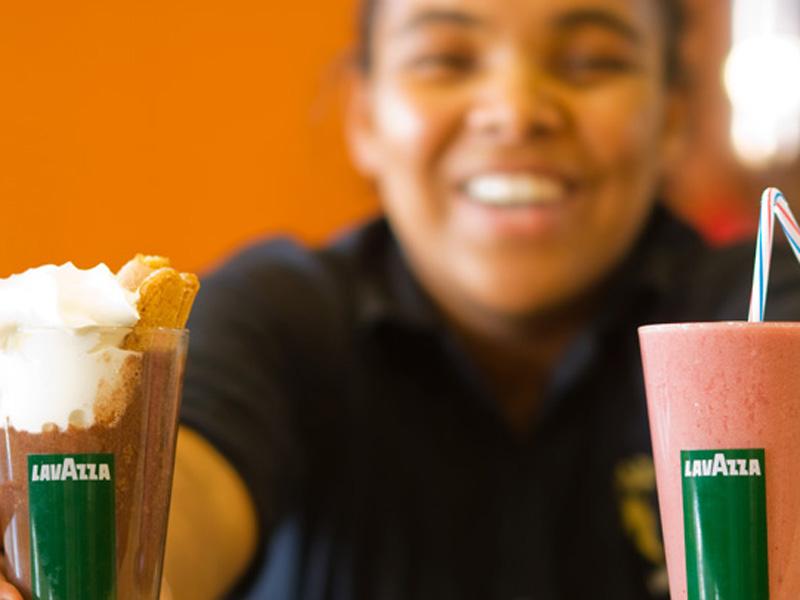 Franquicia de cafeterías de éxito