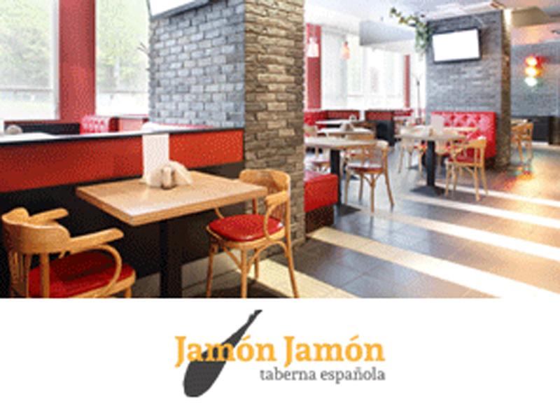 Local y logo de Jamón Jamón