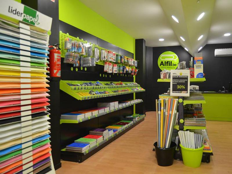 Alfil.be interior tienda