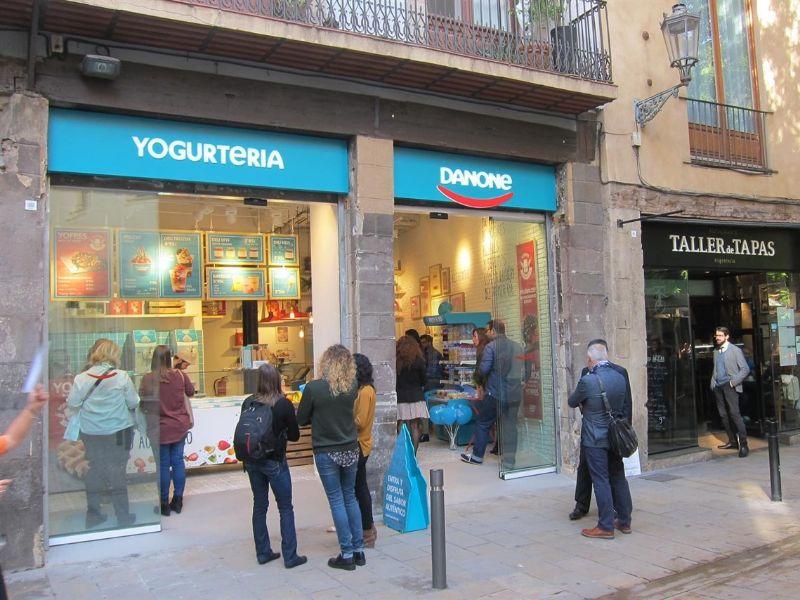 Franquicia Yogurteria Danone  España
