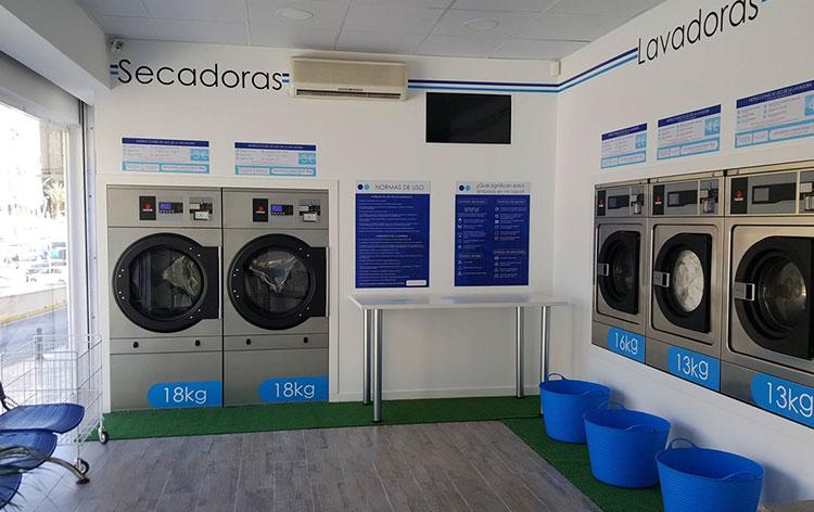 lavandería-autoservicio