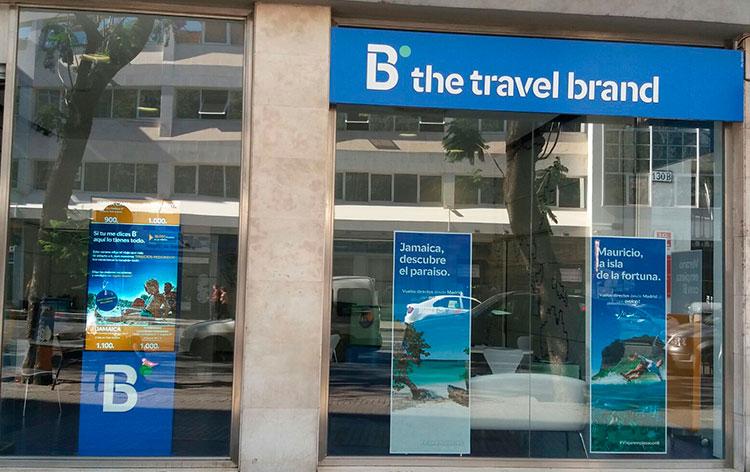 Abrir una franquicia B the travel brand