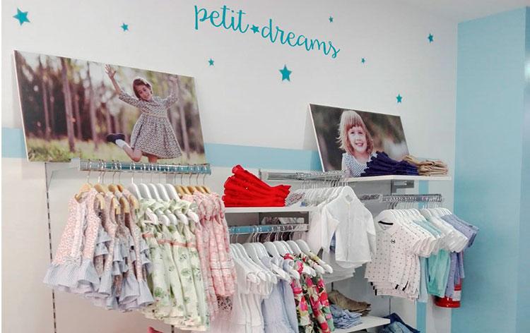 franquicia moda infantil petit dreams