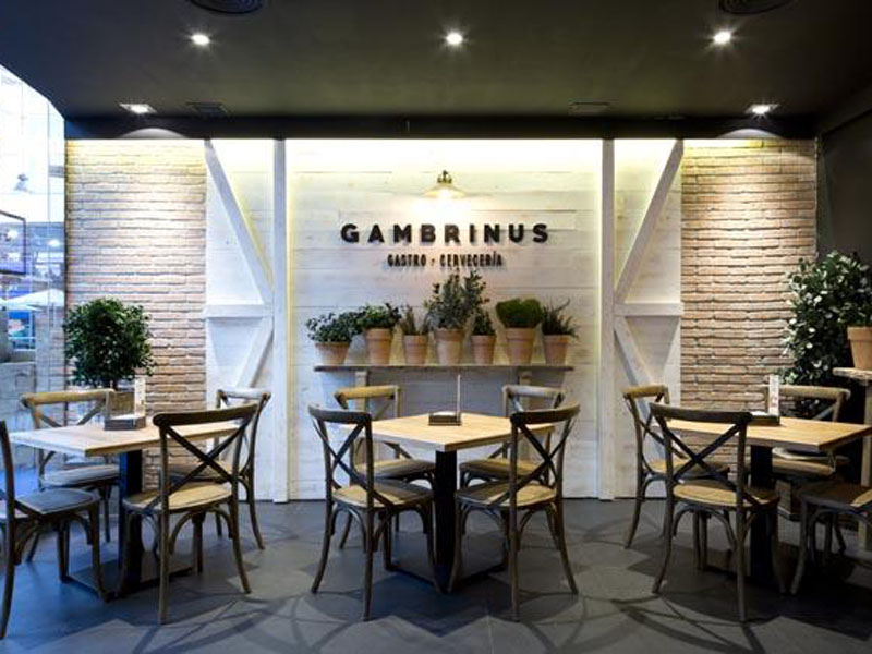 Establecimiento de Gambrinus Gastro-Cervecería