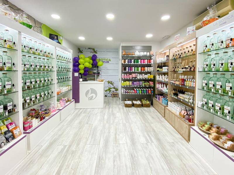 Interior de la botica de los perfumes