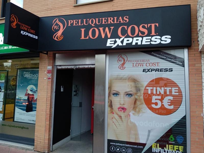Franquicia de peluquería de bajo precio