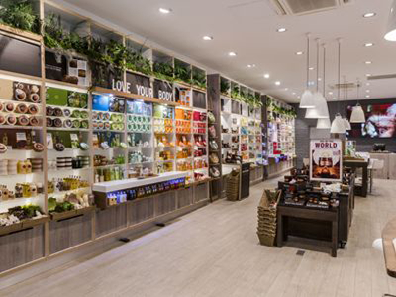 Cosmetica natural de The Body Shop