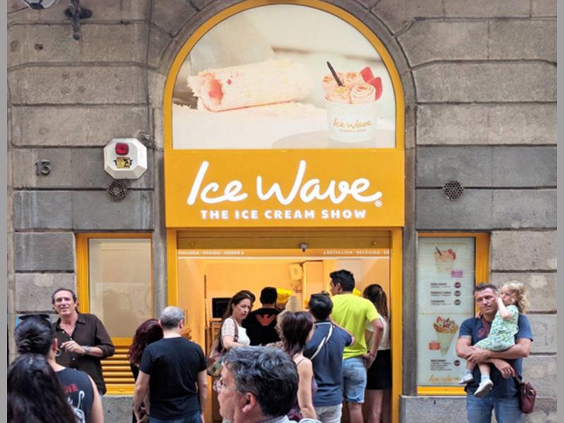 Entrada de  Ice Wave