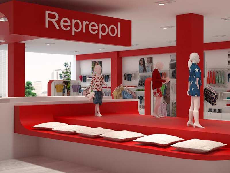 Tienda de ropa de Grupo Reprepol