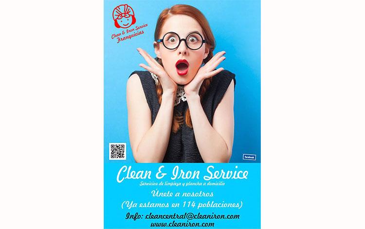 Abrir franquicia Clean IRON