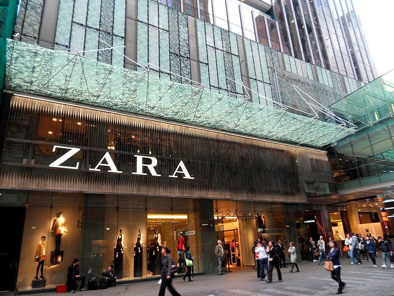 Franquicia de tiendas de ropa Zara