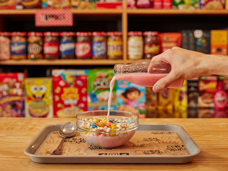 Bol de la Franquicia de Cereal Hunters Café