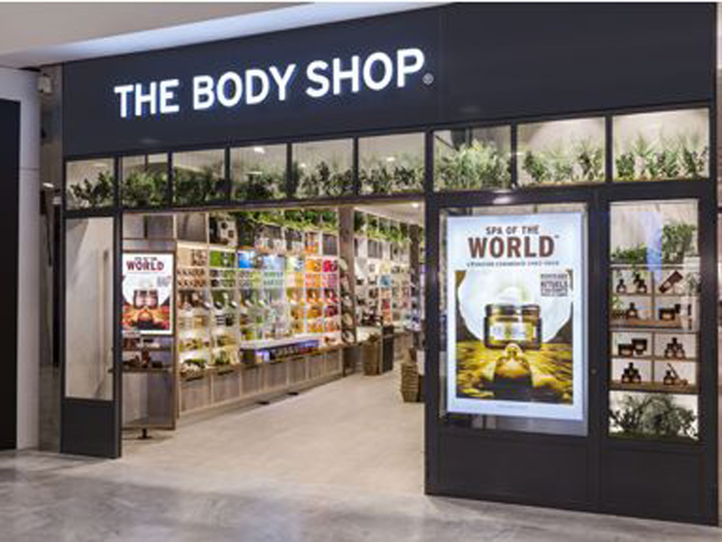 El local de The Body Shop