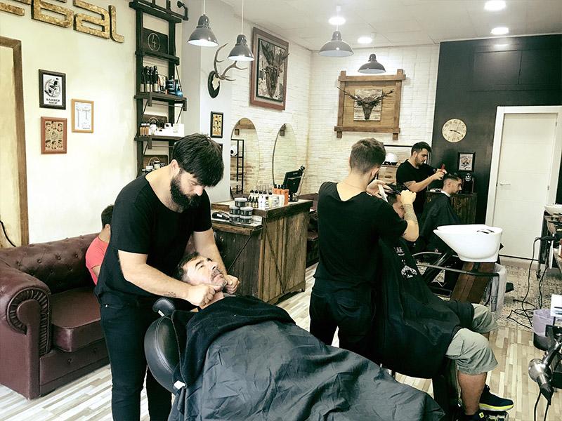 Franquicia de peluquería para hombres