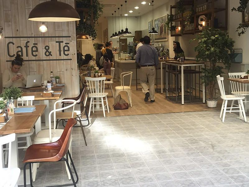 Franquicia Café & Té opiniones