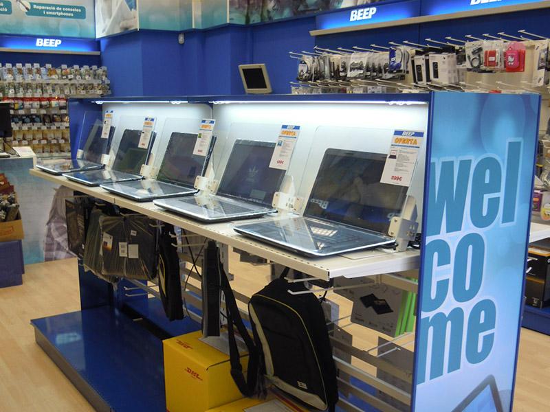 Franquicia de tecnología en España