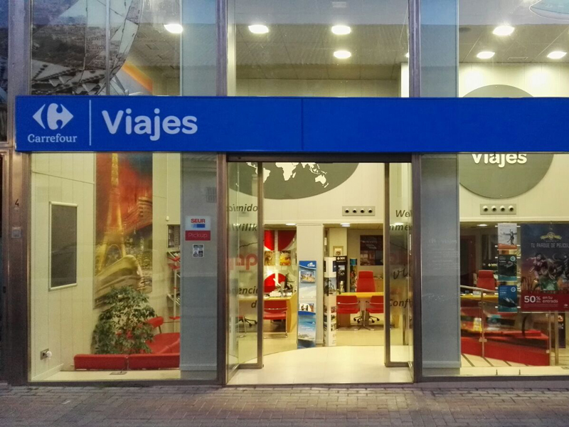 Franquicia Viajes Carrefour España
