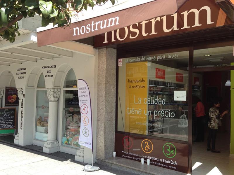 Entrada a la franquicia Nostrum