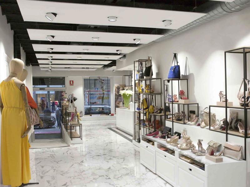 Franquicia Cuplé interior tienda