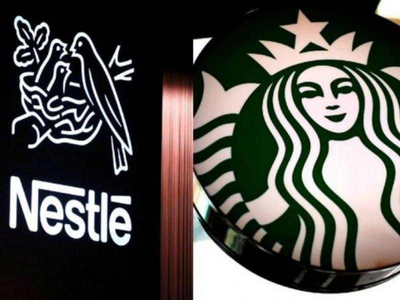 Alianza entre Nestlé  y Starbucks