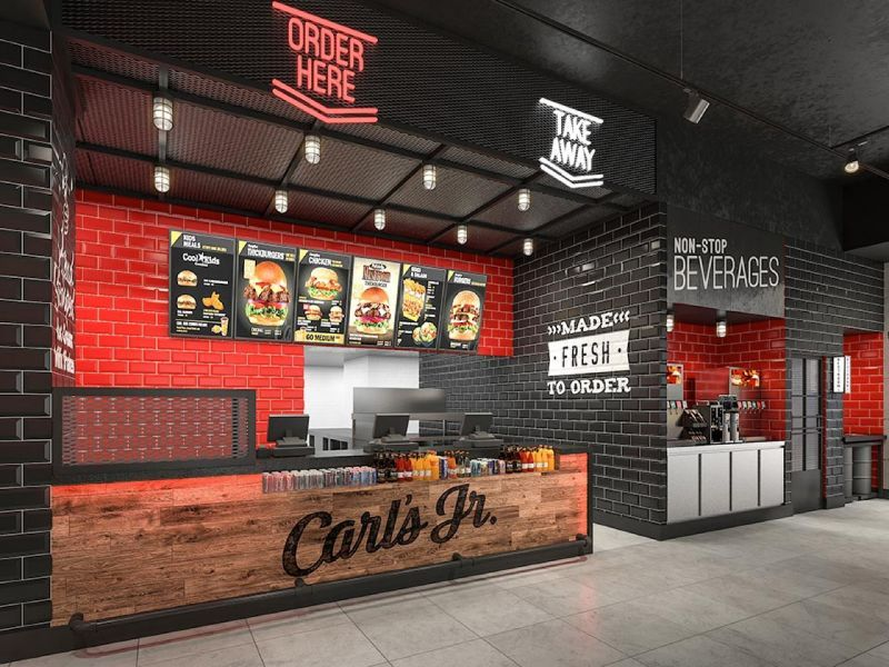 El grupo Beer&Food estrena su primer free standing Carl's Jr