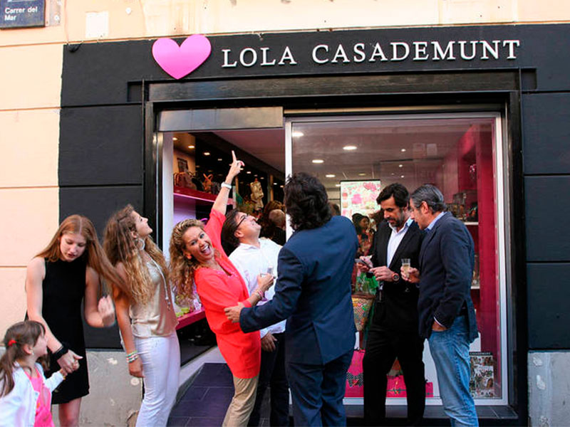 Franquicia Lola Casademunt facturación