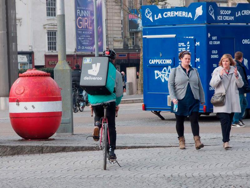 El nuevo objetivo de Deliveroo: lograr los 100 millones de clientes en Europa para 2019