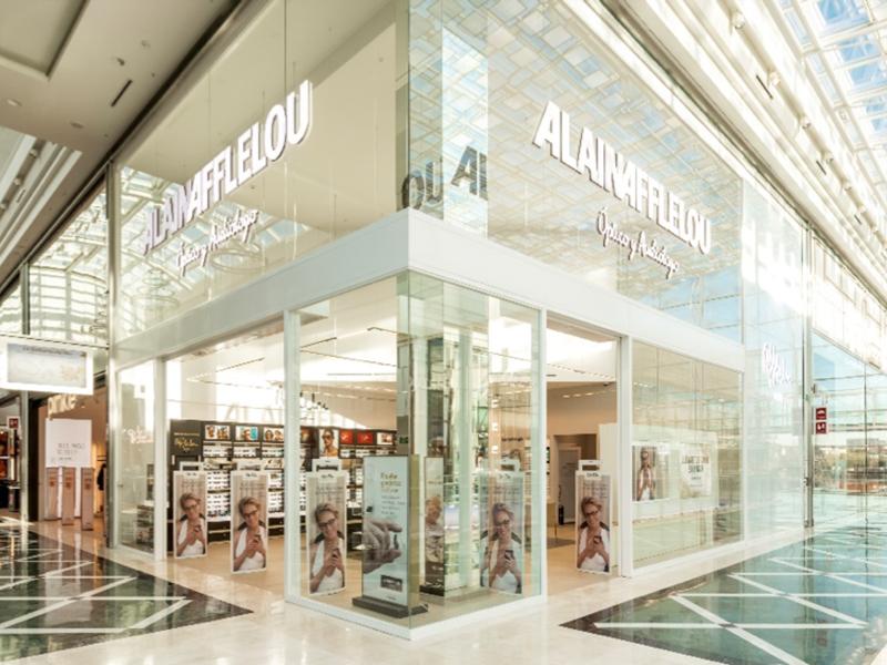 ALAIN AFFLELOU es la Mejor Franquicia en Centro Comercial 2018