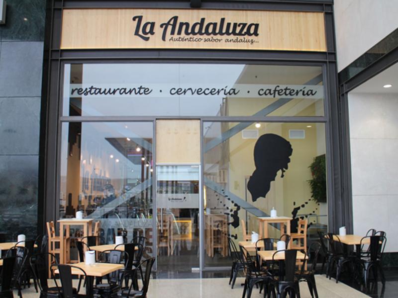 Local de la franquicia La Andaluza
