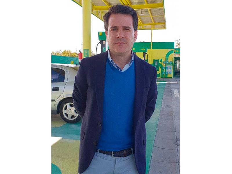 Iván Ferrándiz, socio fundador y Consejero-Delegado de gasolineras Naftë