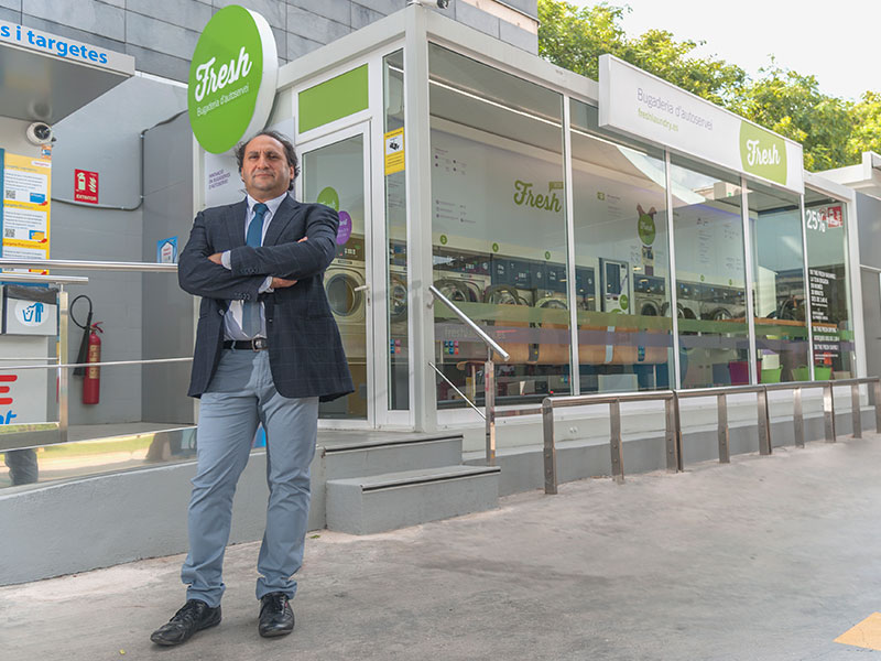 Roberto Haboba, CEO de Fresh Laundry