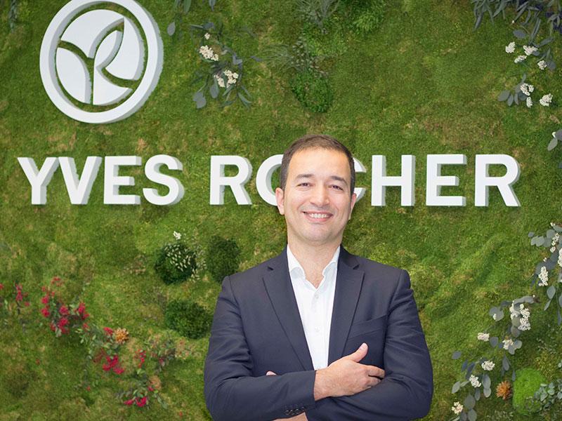 Yves Rocher España presenta a Omar Chtayna como nuevo director general.