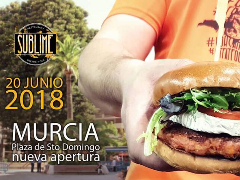 Sublime Dreams Food estará en Plaza de Santo Domingo de Murcia