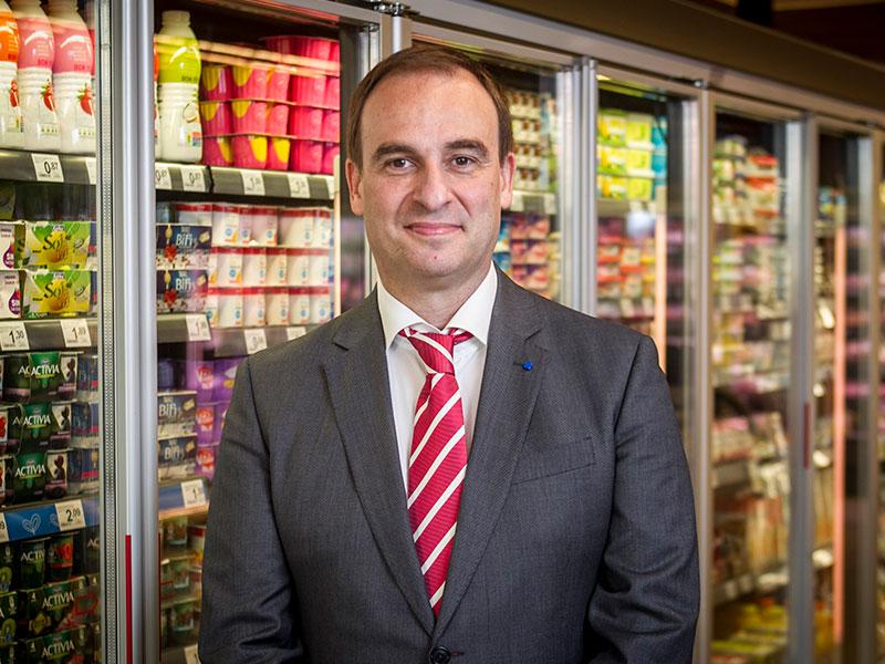 Enrique Martínez Director de Franquicia para Supermercados Rapid