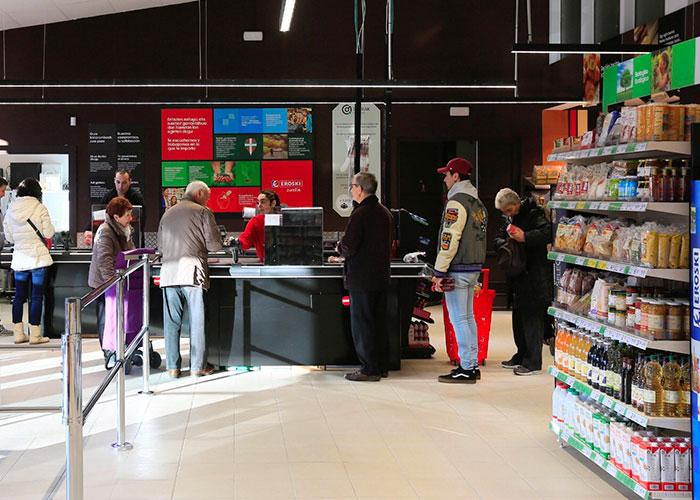Eroski abre supermercado gestionado por personas con discapacidad