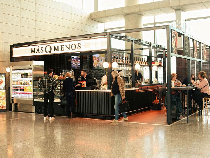 MásQMenos aterriza en el aeropuerto de Málaga