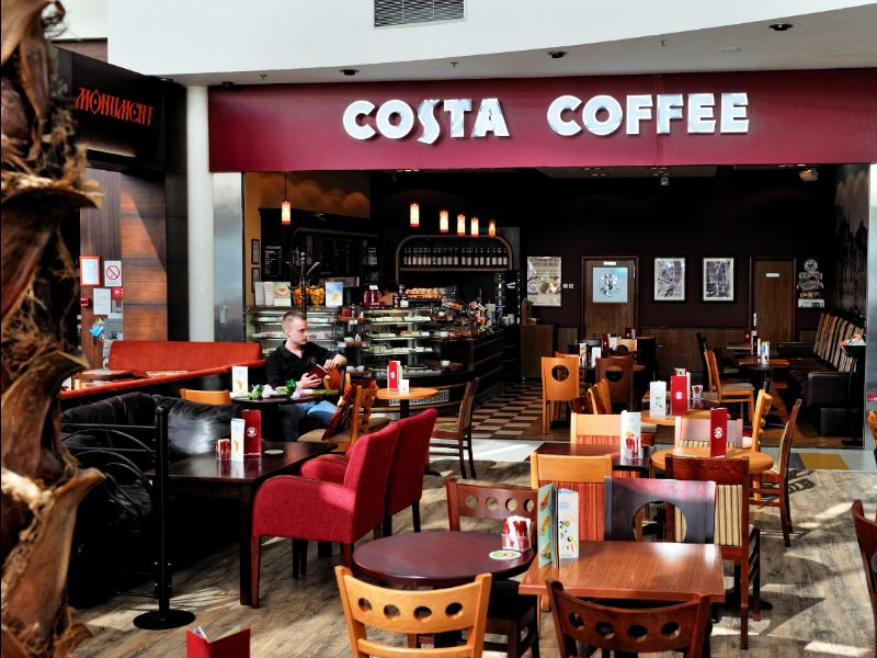 Coca-Cola compra la cadena de cafeterías Costa