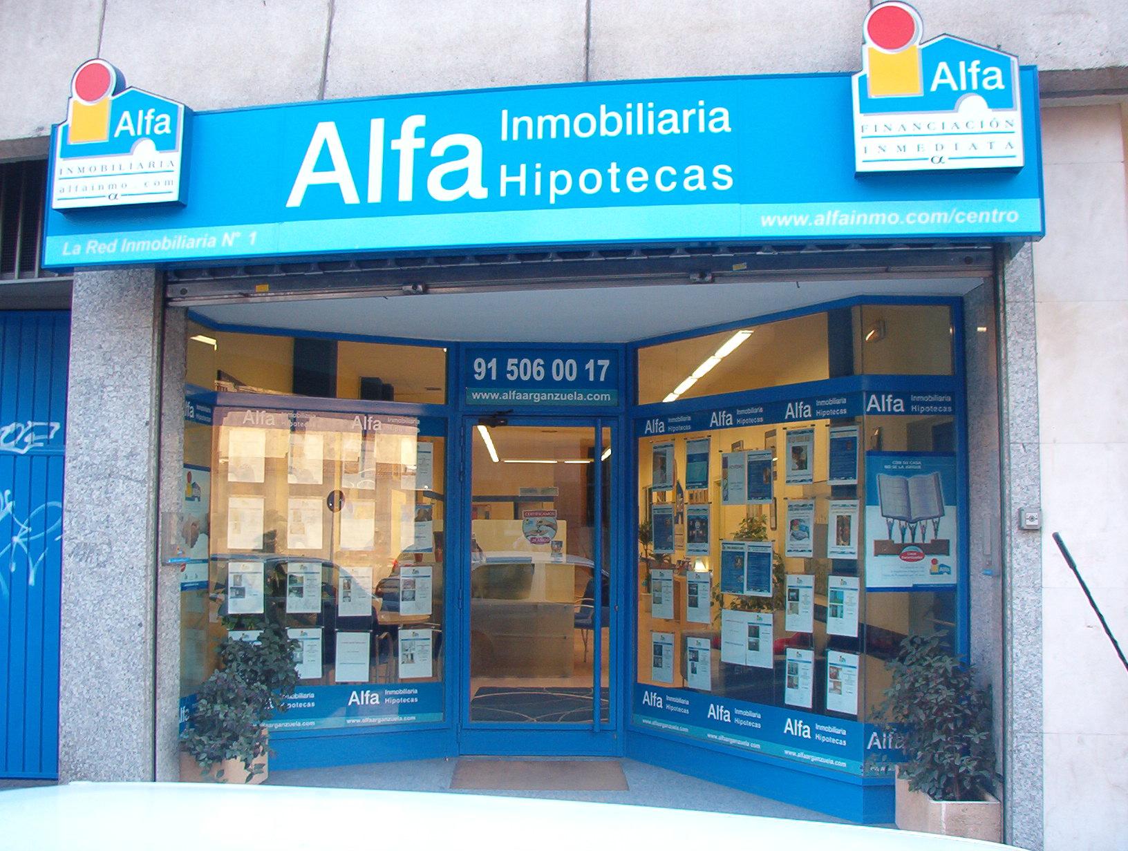 Oficina de archivo de Alfa inmobiliaria