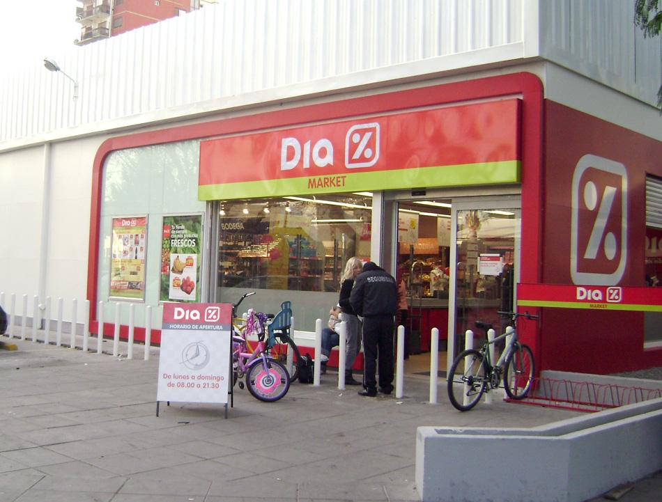 Supermercado Dia ventas