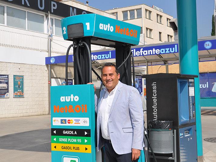 Marcos Moure fundador y Director General de AutoNet&Oil y Elefante Azul