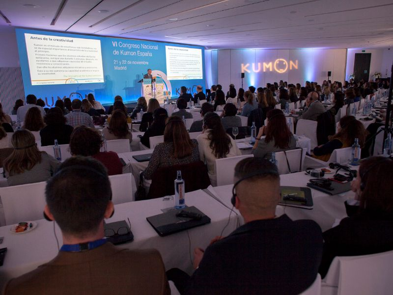 Más de 200 expertos se reunieron en Madrid para celebrar el VII Congreso Nacional de Kumon España