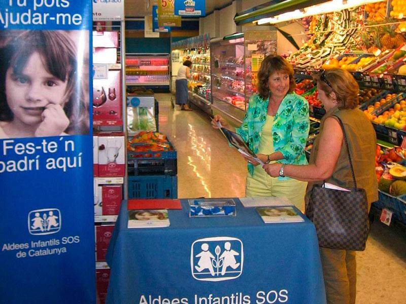 Aldeas Infantiles SOS y Caprabo celebran 20 años de colaboración conjunta